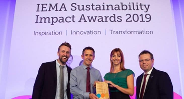 TAG Farnborough wins sustainability award