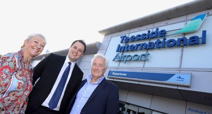 Durham Tees Valley renamed Teesside Internati..