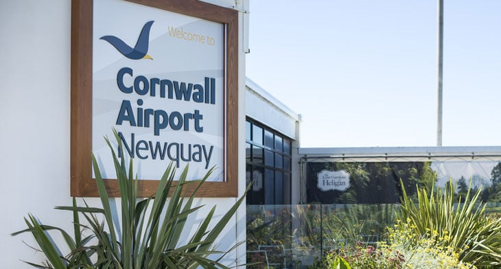 Cornwall Airport Newquay gains new regional links with Loganair
