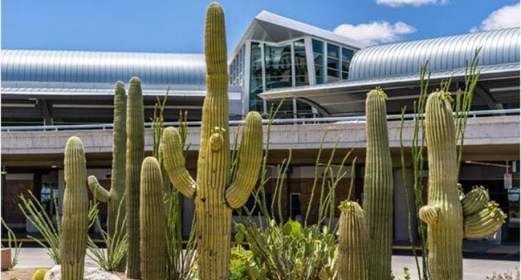 Tucson Airport welcomes surge in passenger numbers