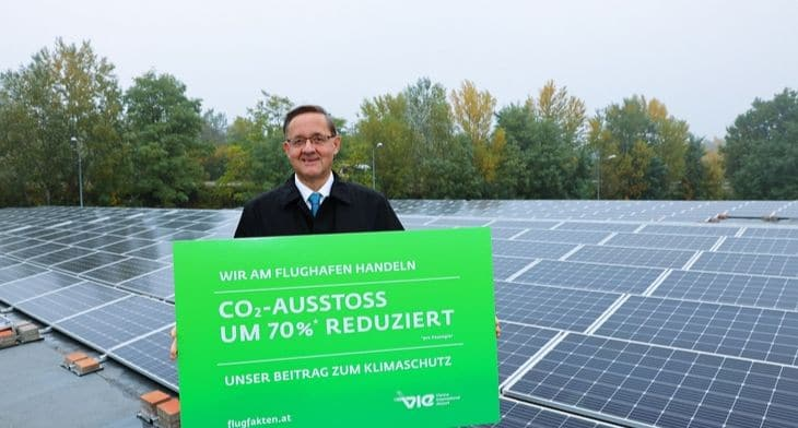 Solar electricity drive to power Vienna Airpo..