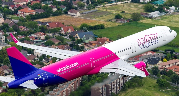 Wizz Air adds ninth aircraft to London Luton