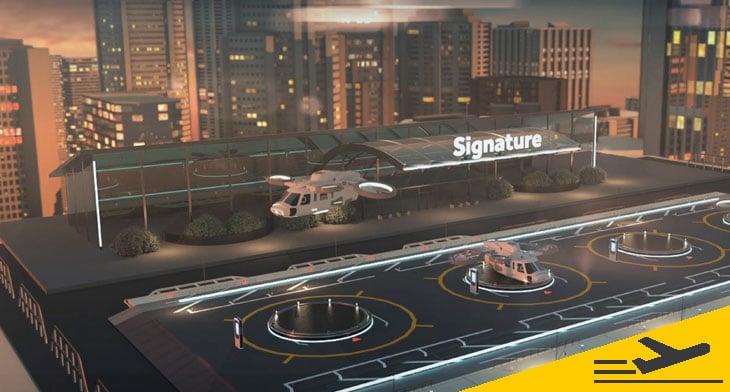 Signature Flight Support to facilitate ground..