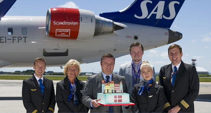 Cornwall Airport Newquay adds Copenhagen connection with SAS