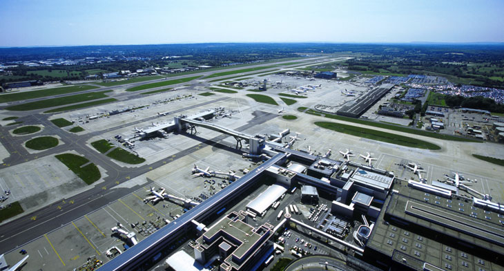 Gatwick suspends flights following drone sigh..