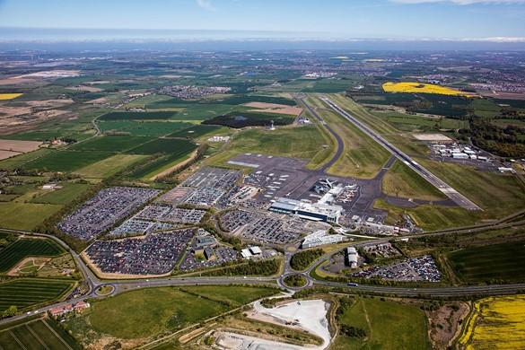Newcastle International Airport masteprlan