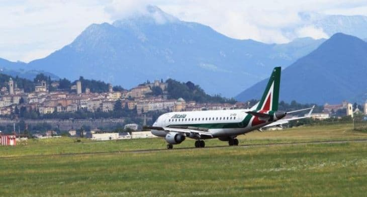Milan Bergamo welcomes return of Alitalia.