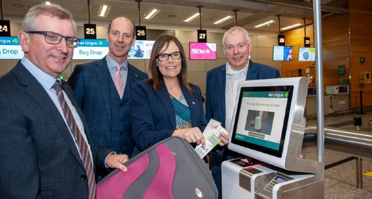 Cork Airport launches self-service bag tag an..