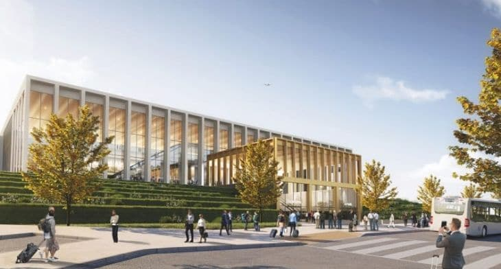 Leeds Bradford Airport unveils plans for sustainable terminal