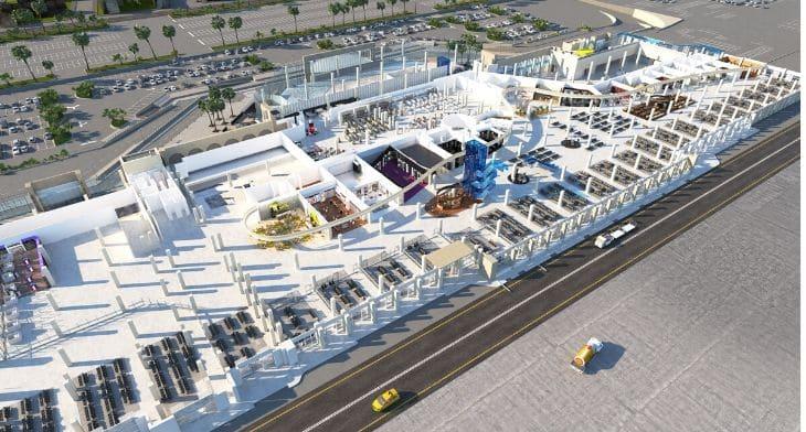 Madrid Airport new terminal design