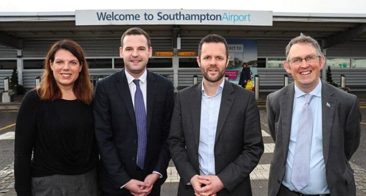 Southampton Airport Aviation Minister