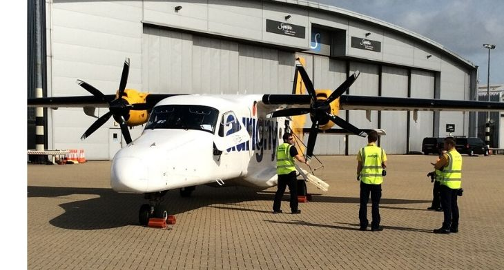 Southampton and Guernsey airports team up to enable medical flight