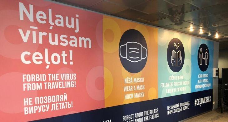 Riga Airport resumes international passenger ..