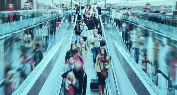 Veovo unveils airport social distancing solut..