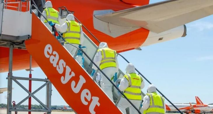 easyJet to resume services from mid-June
