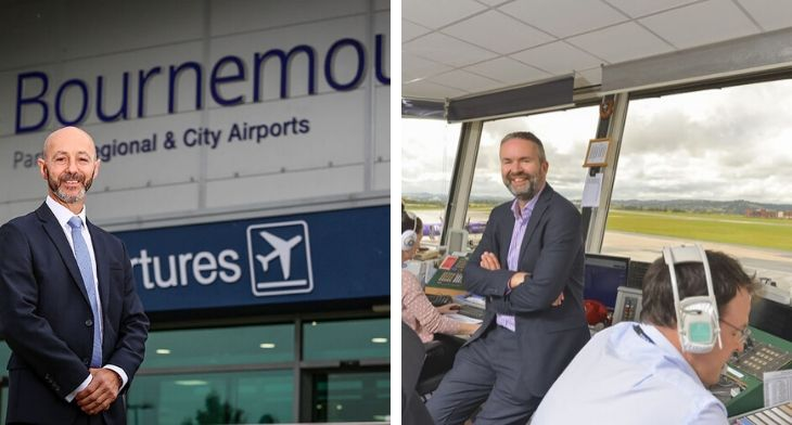 Commercial flights resume at Bournemouth and Exeter airports in the UK