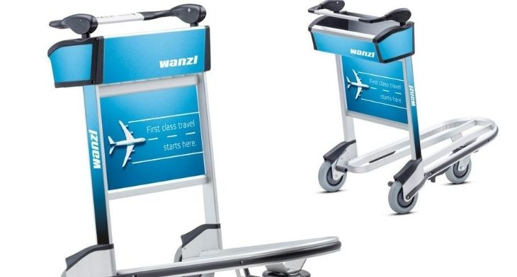 Wanzl's new luggage trolley designed with both passengers and airport operators in mind