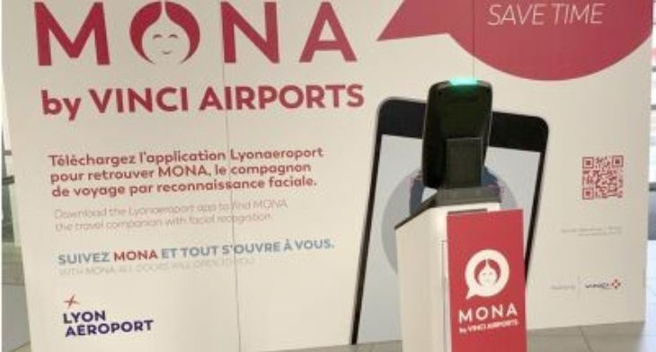 Vinci Airports trials world first contactless solution at Lyon Saint-Exupéry Airport