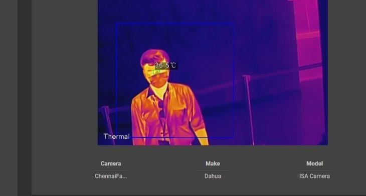 NOKIA thermal imaging
