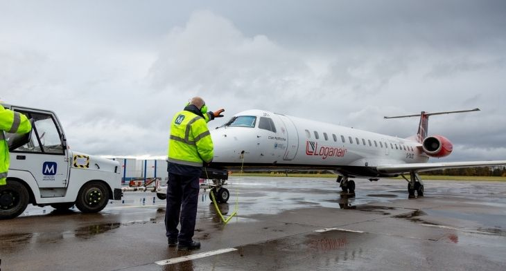 Menzies wins three-year Loganair contract at two Scottish hubs