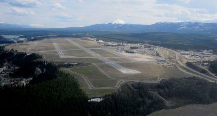 Whitehorse Airport in Yukon