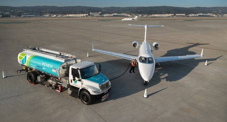 NBAA-BACE: Signature Flight Support marks SAF milestone and launches book and claim initiative