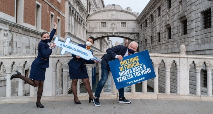 Venice Treviso Airport welcomes $200m investment as Ryanair base