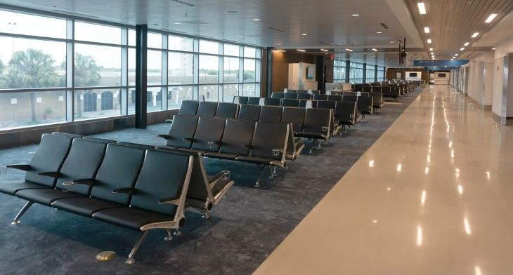 Arconas unveils bullet- and blast-resistant seating at Brownsville Airport