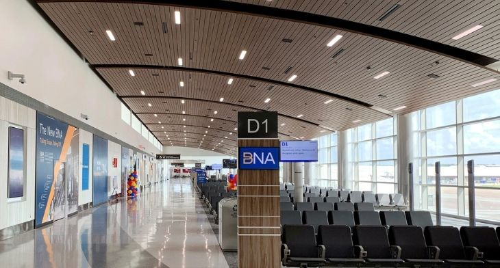 Nashville Airport highlights importance of sustainable design