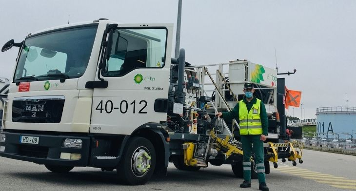 Air bp installs carbon emissions reducing technology on all fuel hydrants in Portugal