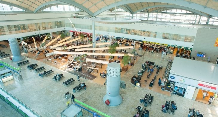 Spanish airports report 32% recovery in traffic compared to 2019