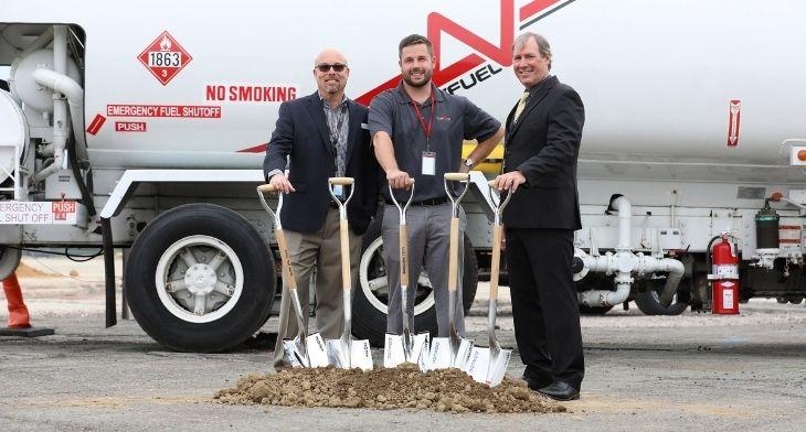 FlightServ breaks ground on new corporate jet facility at Trenton Mercer Airport