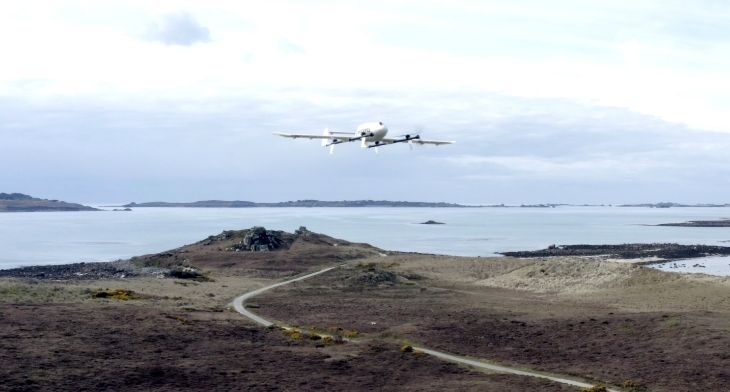 Skyports joins forces with Royal Mail to pioneer drone deliveries to Isles of Scilly