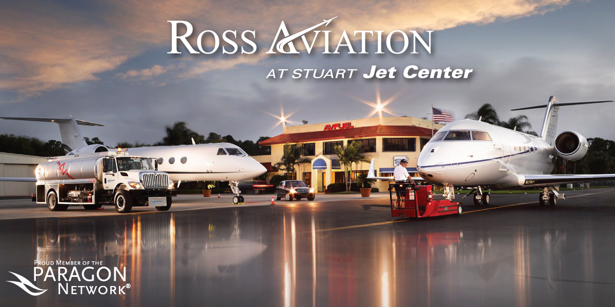 Ross Aviation's newest FBO at Witham Field Airport in Florida joins Paragon Aviation Group