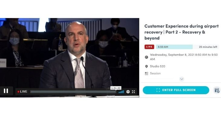 ACI World Customer Experience Global Summit 2021: Airports report on lessons learned during pandemic